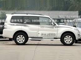 Pajero Sticker Design Details About Graphics Stickers Fit Mitsubishi Pajero Waist Line Stripe Decals Side Door Skirt