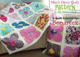 my fabric relish: Mae's Daisy Quilt & Mae's Daisy Adamdwight.com