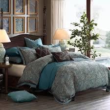 king size lauren comforter set blue