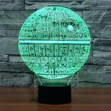 dallas cowboys table lamp cowboys desk lamp led night light star wars the force awakens