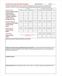 Free 18 Sales Report Example Samples In Pdf Word