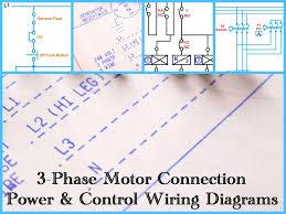 Symbols Pleasant Three Phase Motor Power Control Wiring Diagrams