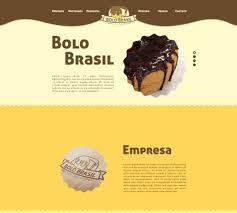 Bolo Template Template Wordpress Bolo Brasil By Avancci Design