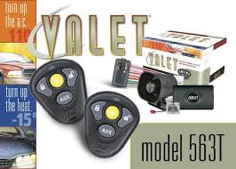 563t your valet alarm w remote car starter 563t your valet alarm w remote start