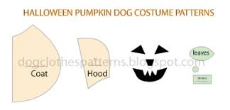 Dog Costume Patterns Awesome Dog Pumpkin Costume Patterns FREE PDF DOWNLOAD