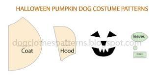 Dog Costume Patterns Awesome Dog Pumpkin Costume Patterns FREE PDF DOWNLOAD