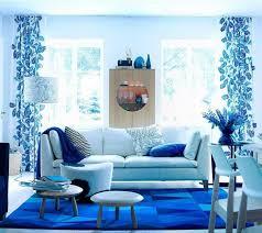 beautiful blue living room decor