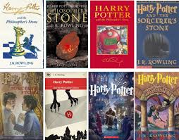 harry potter covers