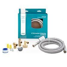Dishwasher Purchase And Installation Amazoncom 6 Dishwasher Waterline Install Kit Home Improvement