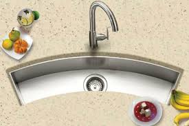 undermount bar sink. Curved Trough Style Bowl Undermount Bar Sink