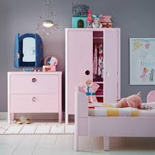 Image Pink Kids Bedroom With Busunge Wardrobe Chest Of Drawers And Bed In Pink Ikea Childrens Furniture Childrens Ideas Ikea Ireland