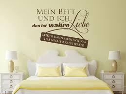 Wandtattoo Mein Bett und ich | wandtattoo-bilder.de