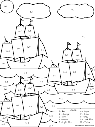 Christopher Columbus Coloring Page Columbus Day Ships Coloring ...