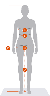 Women S Measurement Chart Body Womens Measurements Didriksons