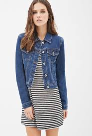 forever 21 classic denim jacket