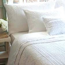 White Bed Sheets Twin Abigail White Quilt And Shams By Taylor ... & White Bed Sheets Twin Abigail White Quilt And Shams By Taylor Linens White  Bed Quilts White Adamdwight.com