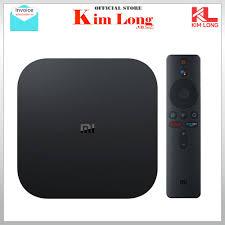 Tivi box Xiaomi Mibox S 4K 2019 Bản Quốc Tế Tiếng Việt tìm kiếm giọng nói -  Chính hãng phân phối