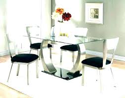 6 seater glass top dining table india round contemporary modern kitchen licious contem
