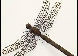 stylish idea dragonfly wall art outdoor