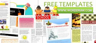 Free Templates For Publisher Free Newsletter Template Publisher Mathosproject