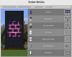 minecraft banner ender bricks
