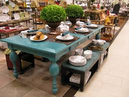 Low Dining Room Sets Projects Plenty The Turquoise Dining Table