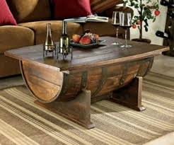 furniture made from barrels. Vintage Oak Whiskey Barrel Coffee Table Furniture Made From Barrels U