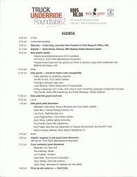 agenda second underride roundtable