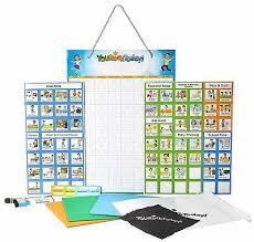 Magnetic Behavior Star Reward Responsibility Chore Chart One Multiple Kids