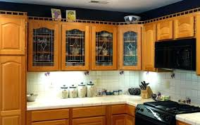 black cabinets with glass panels kitchen cabinet door styles 2017