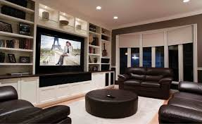 Small media room ideas Pictures Living Room Small Home Theater Design Small Media Room Chairs Home Cinema Build Grey Sectional With Dangkylogoinfo Living Room Small Home Theater Design Media Chairs Cinema Build