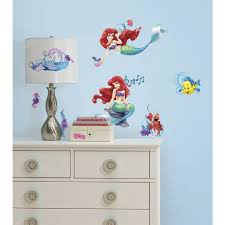 Small Picture Designs Ariel Mermaid Wall Decals As Well As Mermaid Wall Decals