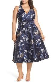 1901 Size Chart Nordstrom 1901 Belted Halter Fit Flare Dress Plus Size Nordstrom Rack