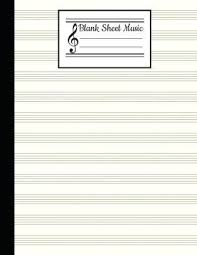 Print Out Blank Music Sheet Music Staff Paper Template Stave Paper Blank Music Staff