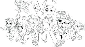 Free Color Pages Paw Patrol Paw Patrol Coloring Pages Free Coloring