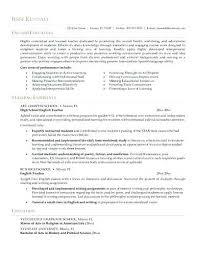 Resume Objectives For Teachers Mesmerizing Sample English Teacher Resume Sample Teacher Resume Teacher Resume