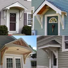 front door portico kitsOne Project at a Time  DIY Blog Builiding a Portico