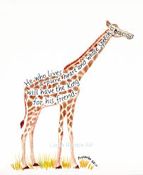 Giraffe Quotes Best GIRAFFE QUOTES INSPIRATIONAL Image Quotes At Hippoquotes