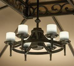 lighting ceiling fans living home outdoors battery operated led outdoor chandeliers for gazebos