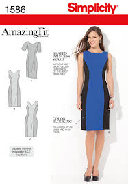 Simplicity Patterns On Sale Unique Simplicity Pattern S48 Amazing Fit Dress Jaycottscouk