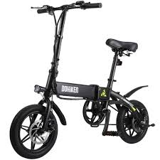 <b>DOHIKER Folding Electric Bike</b> 270W/36V Collapsible with Cruise ...