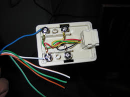 telephone jack wiring solidfonts how to install a residential telephone jack pictures