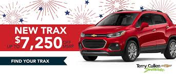 new 2019 trax on at terry cullen chevrolet in atlanta