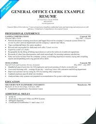 Clerical Resume Examples Sample Postal Clerk Cover Letter Court