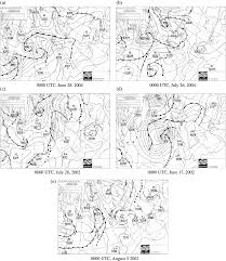 Archive Weather Charts With Sea Level Pressure Maps