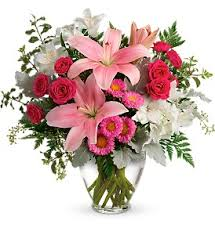 blush rush bouquet in tulsa ok rose s florist