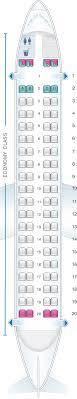 Seat Map Lot Polish Airlines Bombardier Q400 Seatmaestro