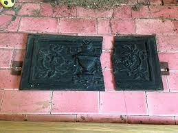welding repair to cast iron fireplace 1 welding repair to cast iron fireplace 2