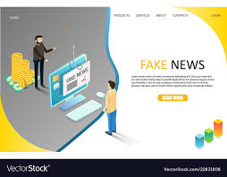 Newspaper Website Template Free Download Fake News Landing Page Website Template