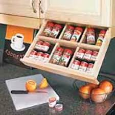 Under Cabinet Mounted Spice Rack 152760